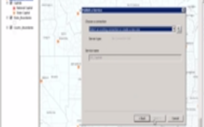 Publishing a Map Service with ArcGIS 10.1