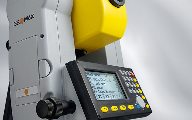 GeoMax Zipp10 Pro With Handy New Additions to the Entry Level Total Station