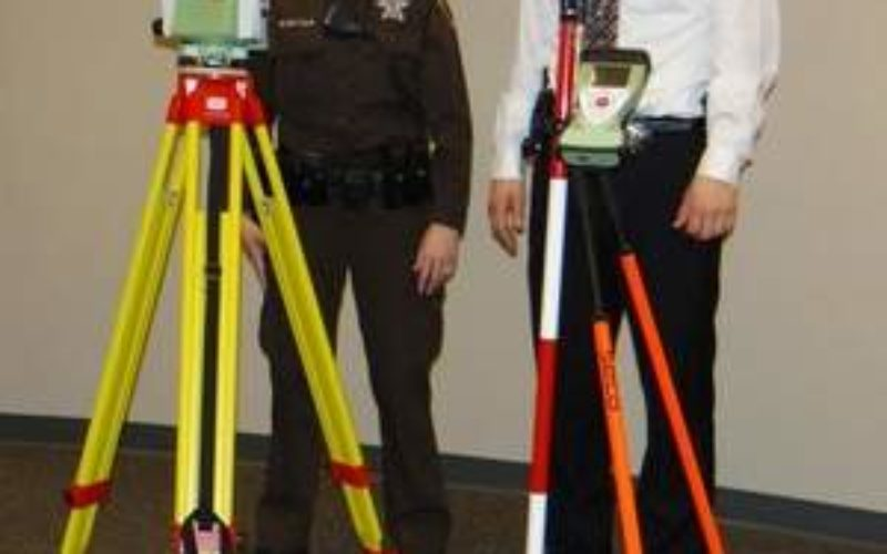 Robotic Total Station to Collect Crash Scene Evidence
