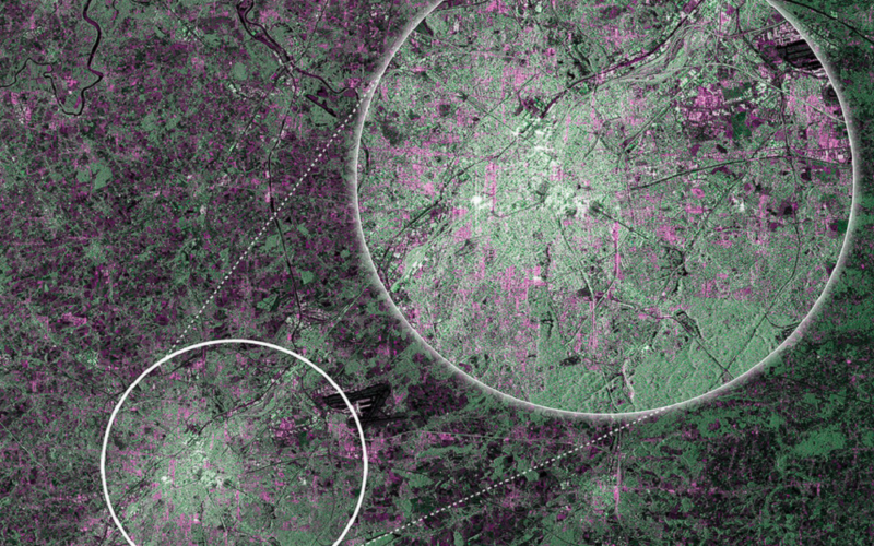 First RADAR Images of Earth by Sentinel-1A Satellite