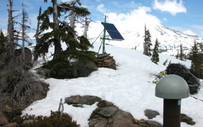 NASA Uses GPS to Find Sierra Water Weight