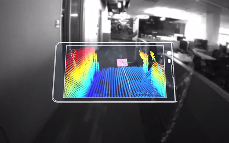 Say hello to Project Tango!