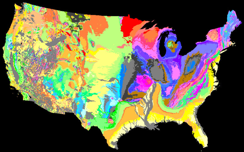 We Will Rock You – Geologic Map Day
