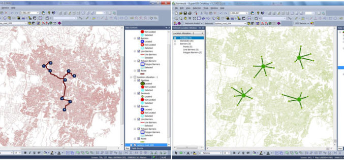Supergeo Launches the Newest SuperGIS Network Analyst 3.2