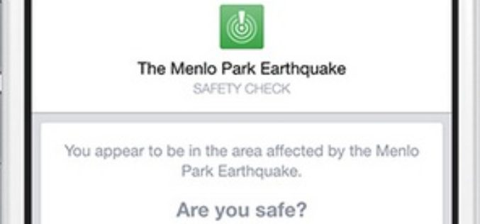 Facebook Debuts Location Based Safety Check Tool