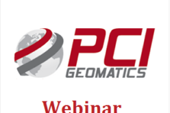 PCI Geomatics Webinar: Get More From Imagery Webinar Rollout