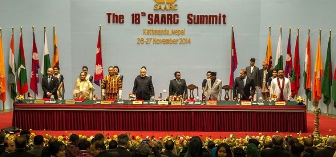 Indian PM Announces Satellite for SAARC Nations