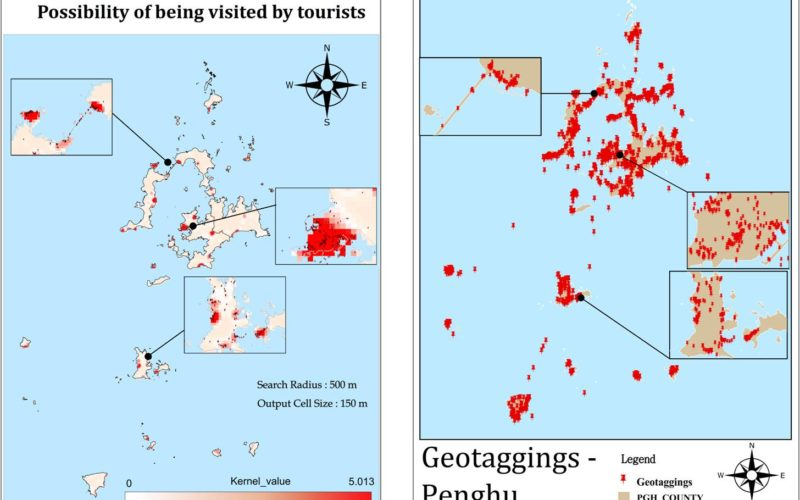 Tag at Hot Tourist Spots with GIS