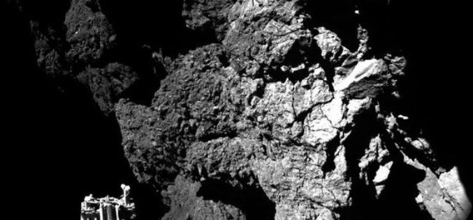 ESA Rosetta's Philae Probe Lands on Comet