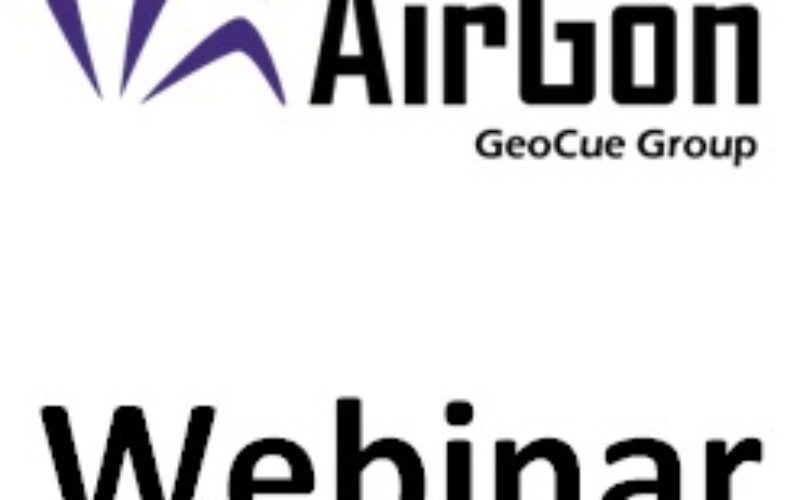 Webinar: AirGon Presents small UAS Metric Mapping Workflows