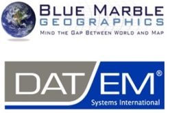 DAT/EM Summit Evolution Compatible with Blue Marble's Global Mapper