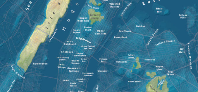 Maps Show What Major World Cities Would Look Like If Global Sea Level Rises