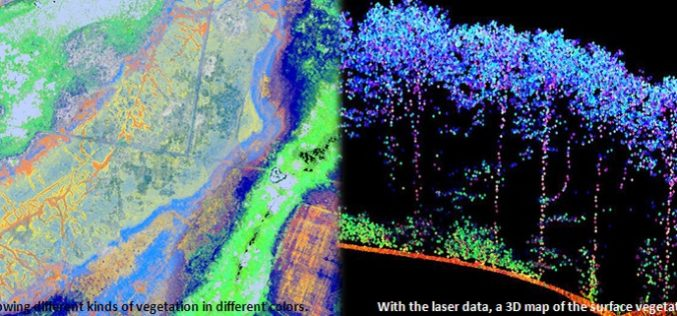Protecting Nature Using Airborne Laser Footprint Data