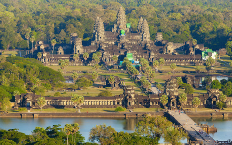 Eyes in the Sky to Protect World Heritage Angkor Wat