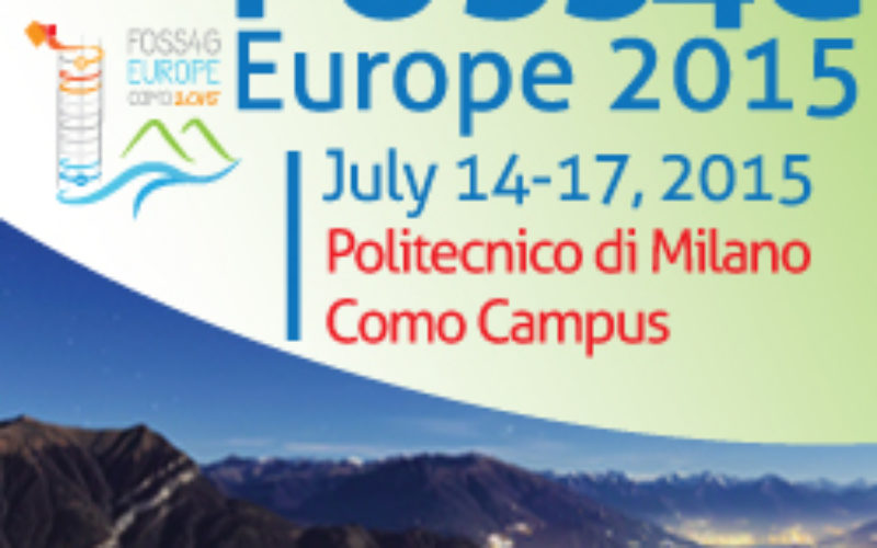 FOSS4G Europe Conference –  First Keynotes Speakers Announcements!