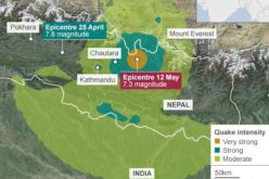 Geological Survey of India Mapping Nepal Earthquake Aftershocks