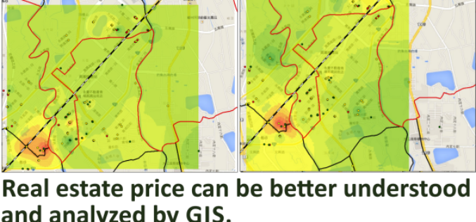 Real Estate Price Distribution Analysis by GIS Technology