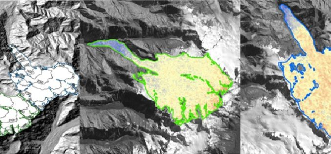 Modeling Glacier Elevation Change from Time Series DEM