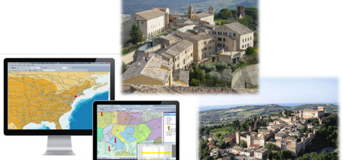 Italian Historic Treia City Uses SuperGIS Desktop for Urban and Tourism Planning