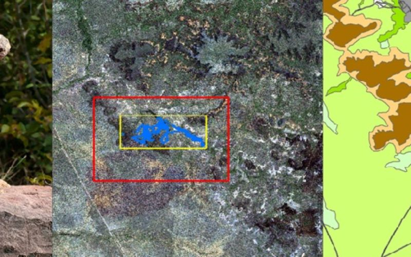 Remote Sensing Technology Is Used to Map Monkey with Hominid like Behavior