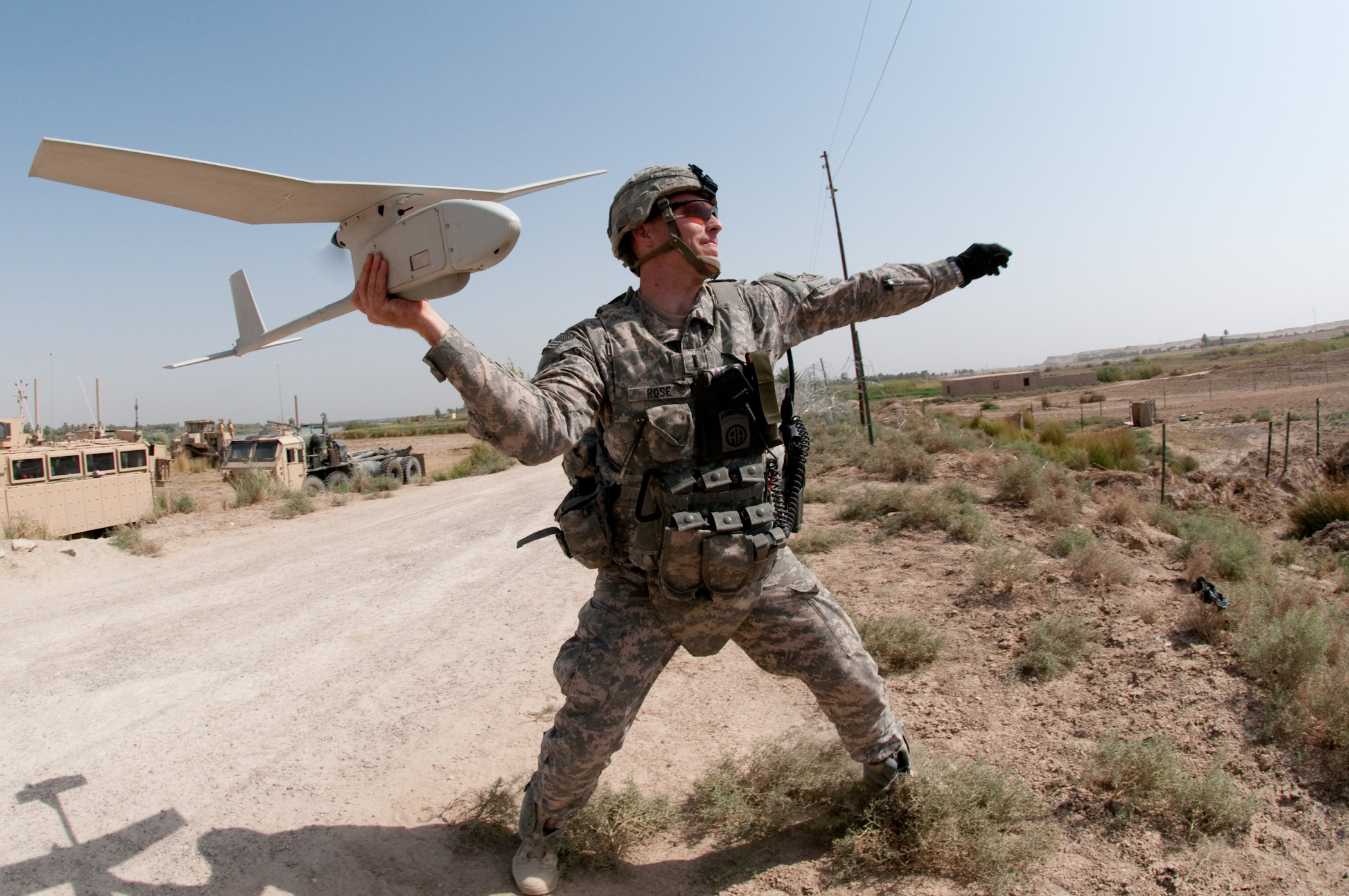 drone usage in war time tactics