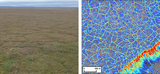 Arctic Tundra Fire Causes Widespread Permafrost Landscape Changes