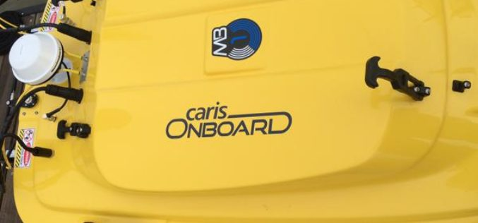 Official release of CARIS Onboard 1.0: A Real-time Data Processing and Mapping Application