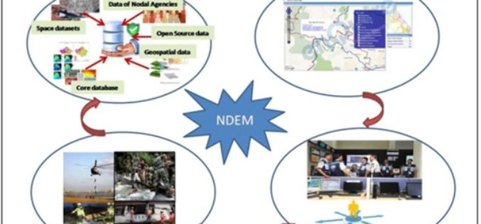 National Database for Emergency Management (NDEM) Services in Tackling Disasters