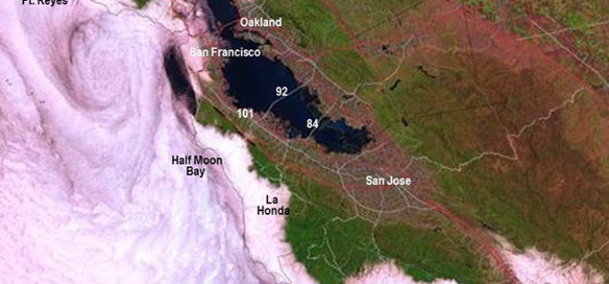 New California Fog Maps Reveal Pictures for Planning