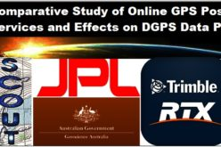 Comparative Study of Online GPS Post Processing Services and Effects on DGPS Data Processing