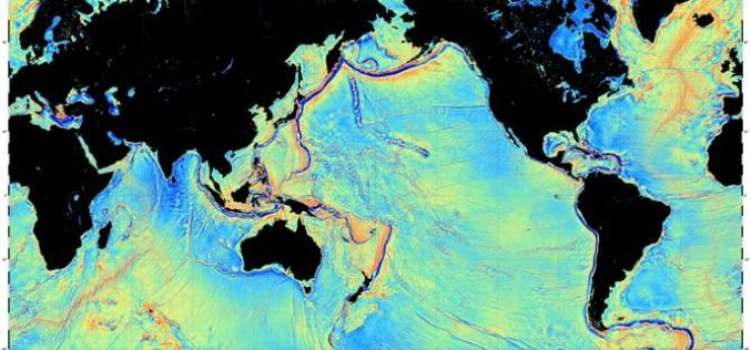 Mapping the Seafloor with Geodesy