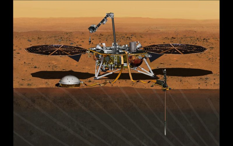InSight Mission's Journey to Mars Set For 2018