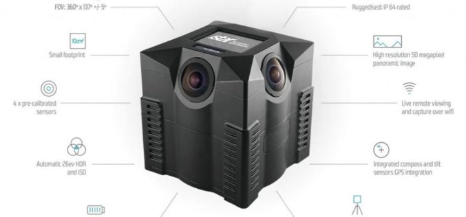 NCTech Unveils New 360 degree Imaging Developments for iSTAR Camera