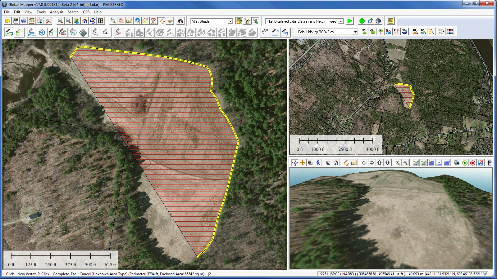 Global Mapper 17.2 Released with New Map Book Creation Tool and Cutaway Terrain View - GIS Resources