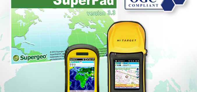 The Whole New Update of Leading Mobile GIS—SuperPad 3.3