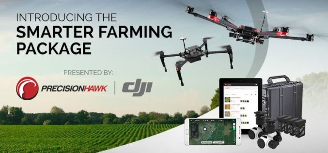 PrecisionHawk And DJI Deliver Easy-To-Use Drone And Data Packages For Farmers