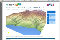 PDF3D Releases 3D Geospatial PDF Plugin for ERDAS IMAGINE at HxGN Live