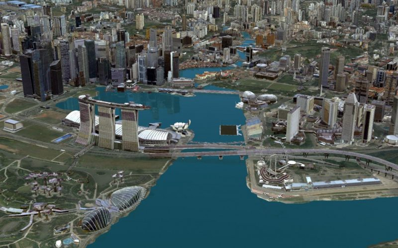 Singapore Land Authority 3D Smart Nation Map Debuts on the World Stage