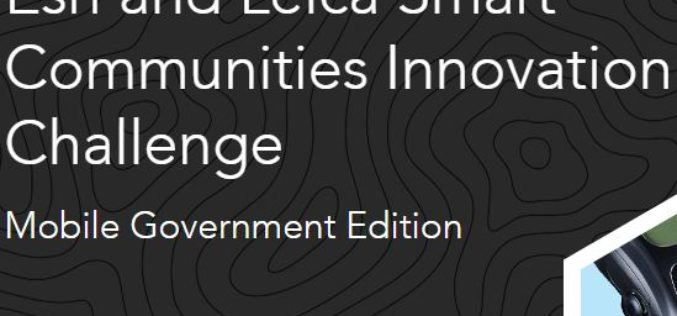 Esri and Leica Partner to Offer Grants to Governments