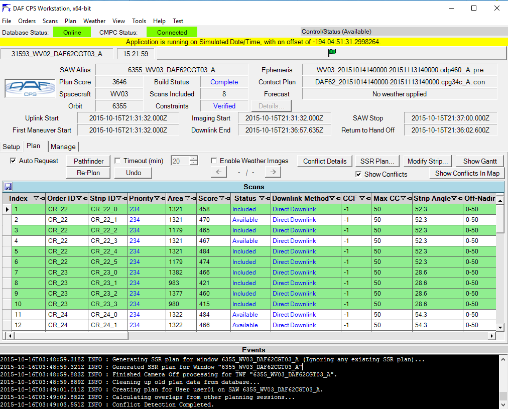 Daf Cps Scans Table Screenshot Gis Resources