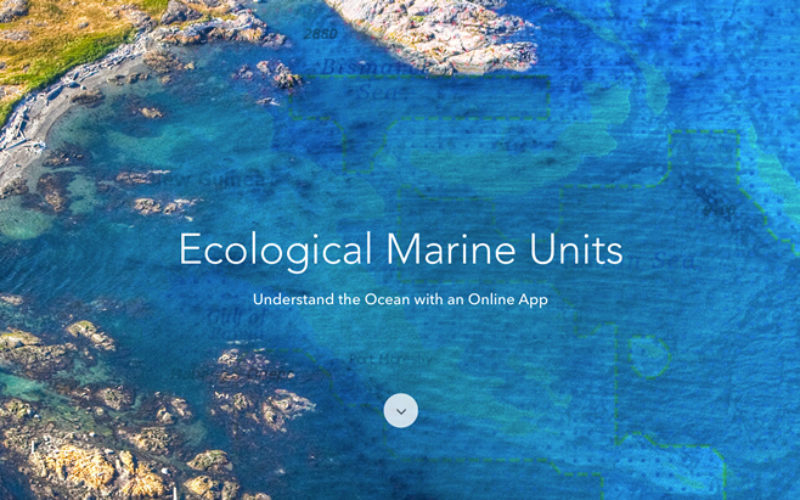 Esri Releases EMUs to Understand the Ocean