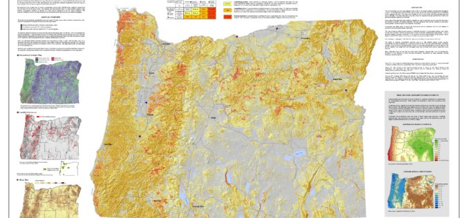 Oregon Landslide Mapping Methods Defined in New Paper