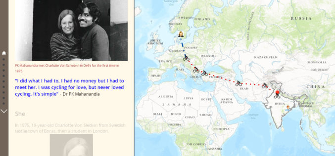 1975 A Love Story: The man who cycled from India to Europe for love