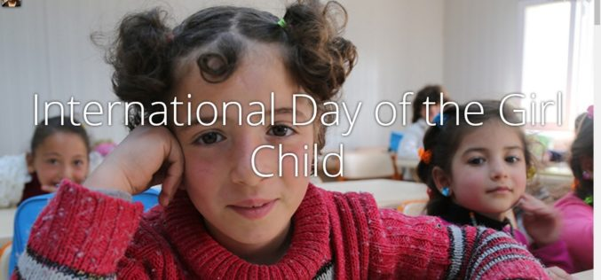 International Day of the Girl Child – 11 October