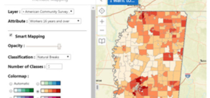 "Mississippi State University Released a New Web Application ""GeoDawg"" – Bringing Power of GIS to the Public"