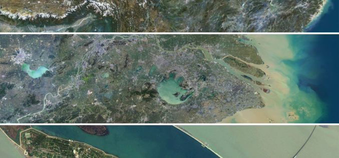 Release of PlanetSAT 15 L8 imagery Basemap of Asia by PlanetObserver