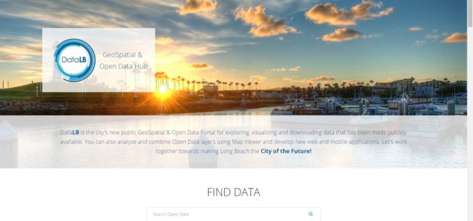 City of Long Beach Launched GeoSpatial & Open Data Portal