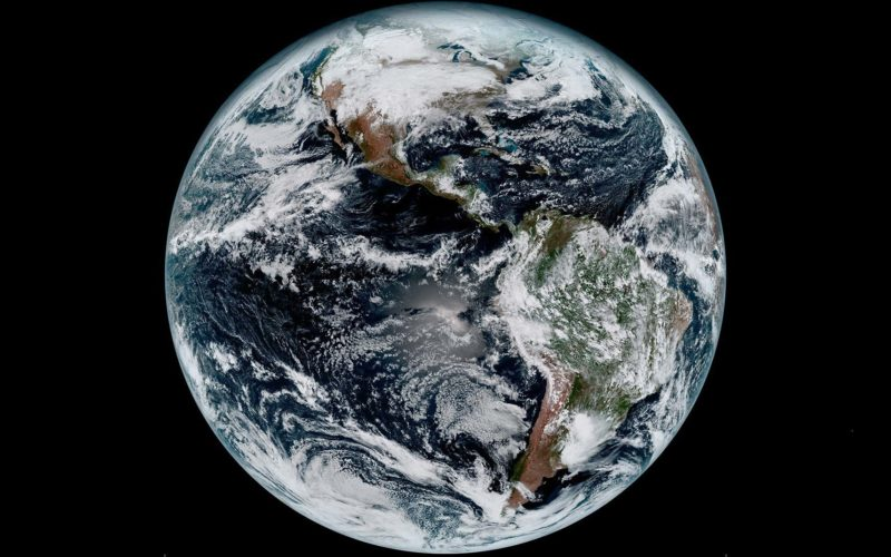 NOAA Releases First GOES-16 Image from Harris Corporation-Built Imager and Ground System
