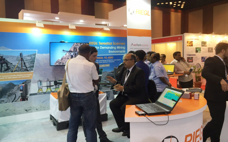 RIEGL's Notable Week at Geospatial World Forum 2017!