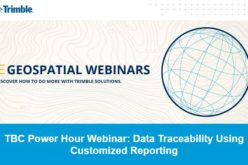 TBC Power Hour Webinar: Data Traceability Using Customized Reporting